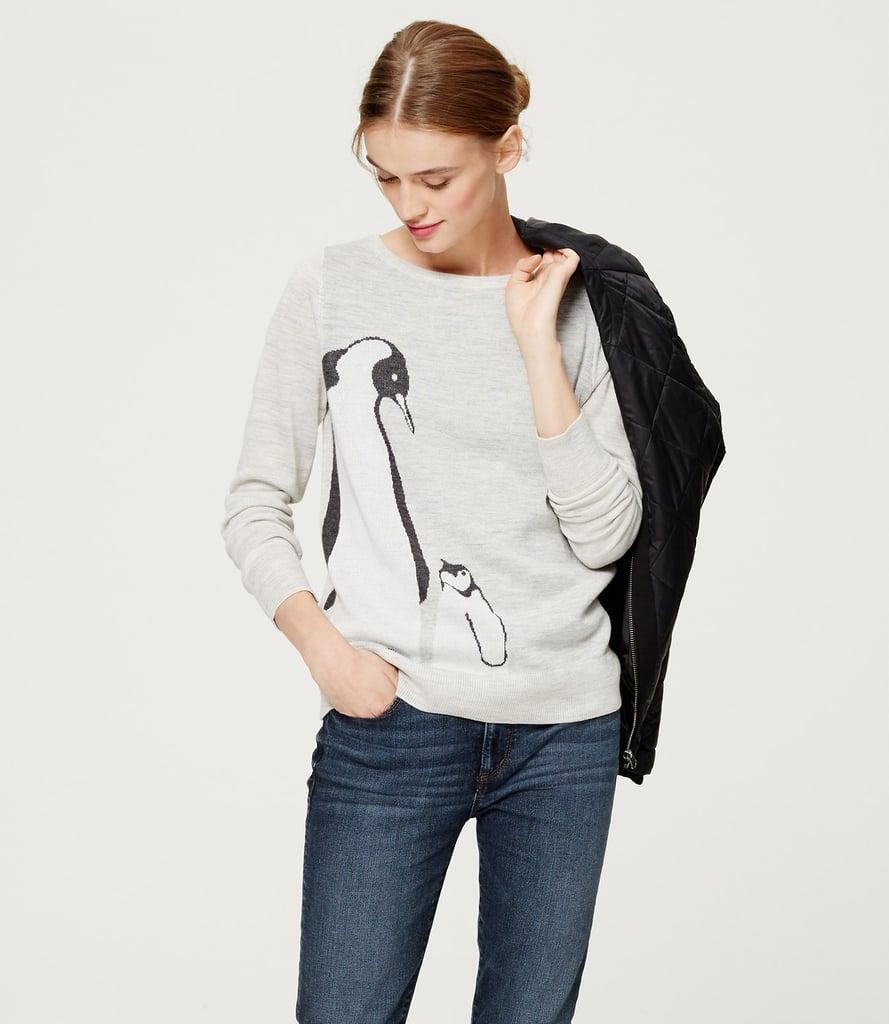 Loft Penguin Sweater ($60)