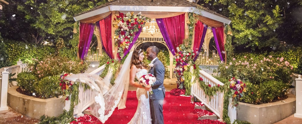 This Disney Fairy Tale Wedding Was Holiday Themed — and Held at the Happiest Place on Earth!