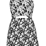 Topshop Cutout Floral Dress