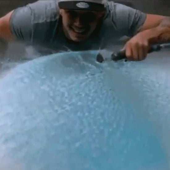 Sawing a Water Balloon Video