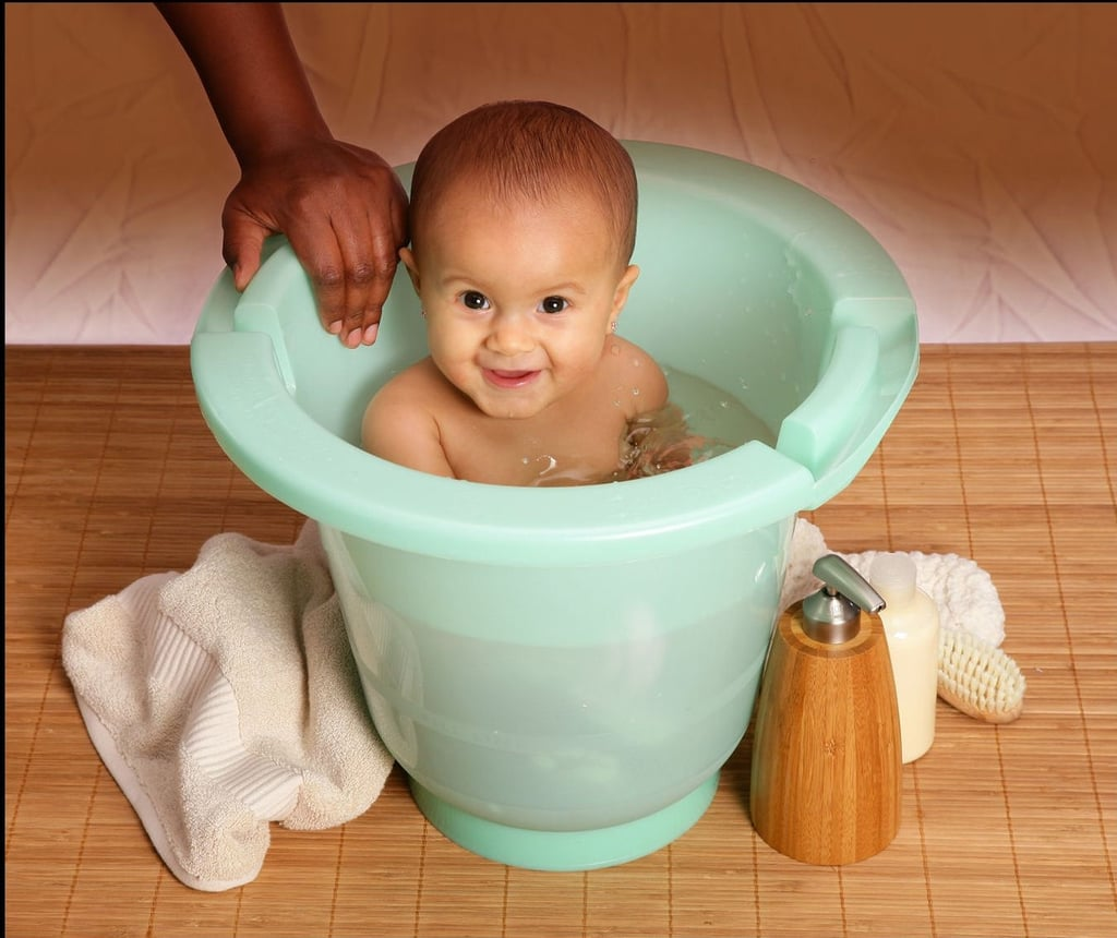 Spa Tub | Tips For Bathing Baby | POPSUGAR Moms Photo 5