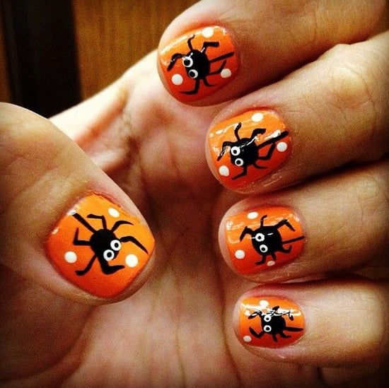 DIY Halloween Nail Art Ideas