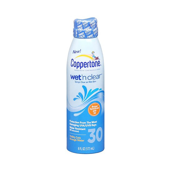 Coppertone Wet 'n Clear Sunscreen Continuous Spray SPF 30