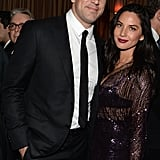 Hot couple Aaron Rodgers and Olivia Munn turned the Still Alice and Grey Goose party into a date.