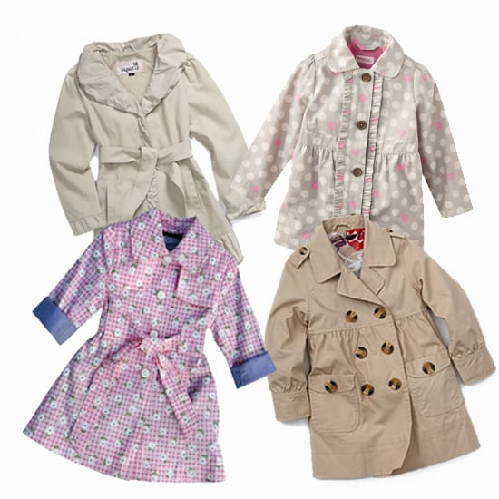 Trench Time! 9 Great Trench Coats For Your Stylish Little Girl
