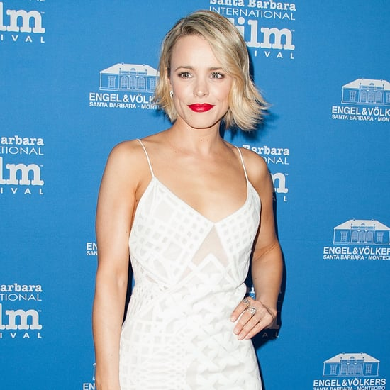 Rachel McAdams in a White Jonathan Simkhai Dress