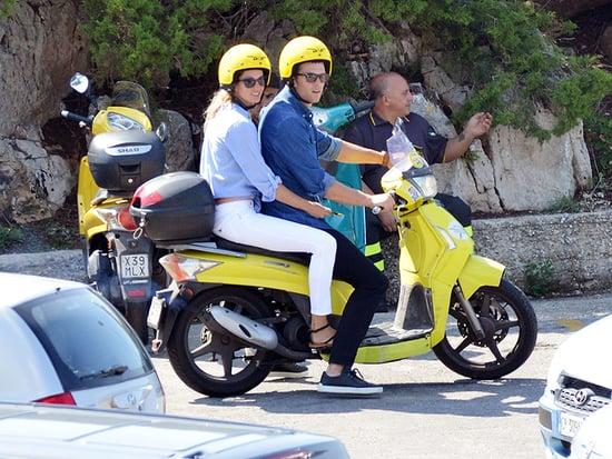 Tom Brady and Gisele Bündchen Enjoy Scooter Ride Around Positano on Romantic Italian Getaway