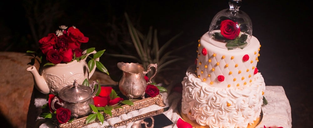 These Stunning Beauty and the Beast Wedding Cakes Will Blow You Away