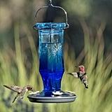 Perky-Pet Sapphire Starburst Decorative Glass Hummingbird Feeder