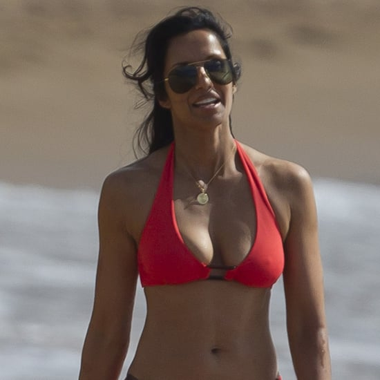 Padma Lakshmi in a Bikini With Daughter | Photos