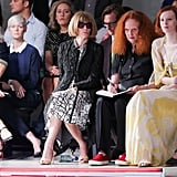 You'll Always Find Her Taking Notes and Sketching at Runway Shows
