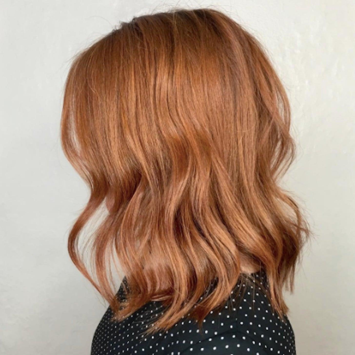 Copper Hair Popsugar Beauty