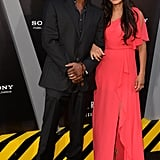 Bokeem Woodbine attended the Total Recall premiere in LA.