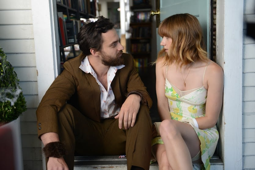 Zoe Kazan and Jake Johnson's newest film, The Pretty One, opens in limited release on Feb. 7, but we've got an exclusive first taste of the film with three new pictures! The film follows Kazan's character, Laurel, as she assumes the identity of her identical — but prettier — twin sister after she passes away. In addition to Kazan and Johnson, the project also stars many more fan-favorite stars, including Community's Danny Pudi and Ron Livingston. Keep scrolling to see our first look at The Pretty One.  Source: DADA Films
