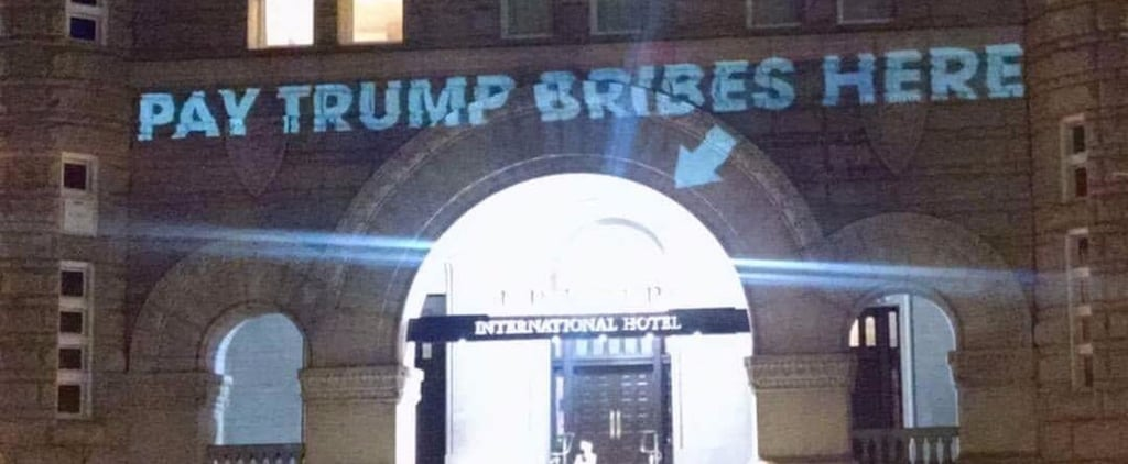 This Artist Trolled Trump at His Own Hotel And People Loved It