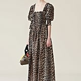 Ganni Cotton Silk Maxi Dress