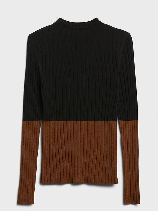 Banana Republic Merino Colour-Block Sweater