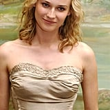 A fresh-faced Diane Kruger opted for kinky waves at a 2004 press conference for Troy.