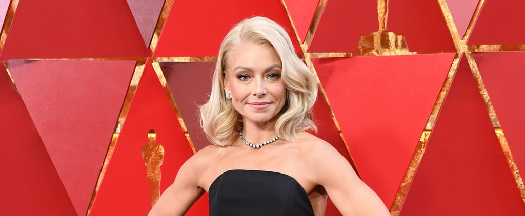 Kindly Direct Your Attention to the Back of Kelly Ripa's Oscars Dress, Please and Thanks