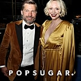 Pictured: Nikolaj Coster-Waldau and Gwendoline Christie