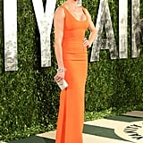 Cameron Diaz Slips Into Something Tight and Bright For VF Oscars Party