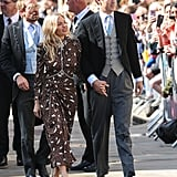 Sienna Miller and Lucas Zwirner at Ellie Goulding's Wedding