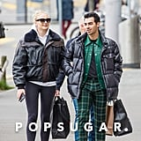 Joe Jonas and Sophie Turner in Zurich After Pregnancy News