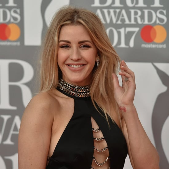 Celebrities at the Brit Awards Red Carpet Photos