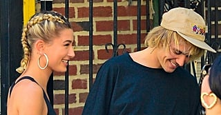 Hailey Baldwin's Oversize Leather Jacket Looks Like It Came Straight Out of Justin Bieber's Closet