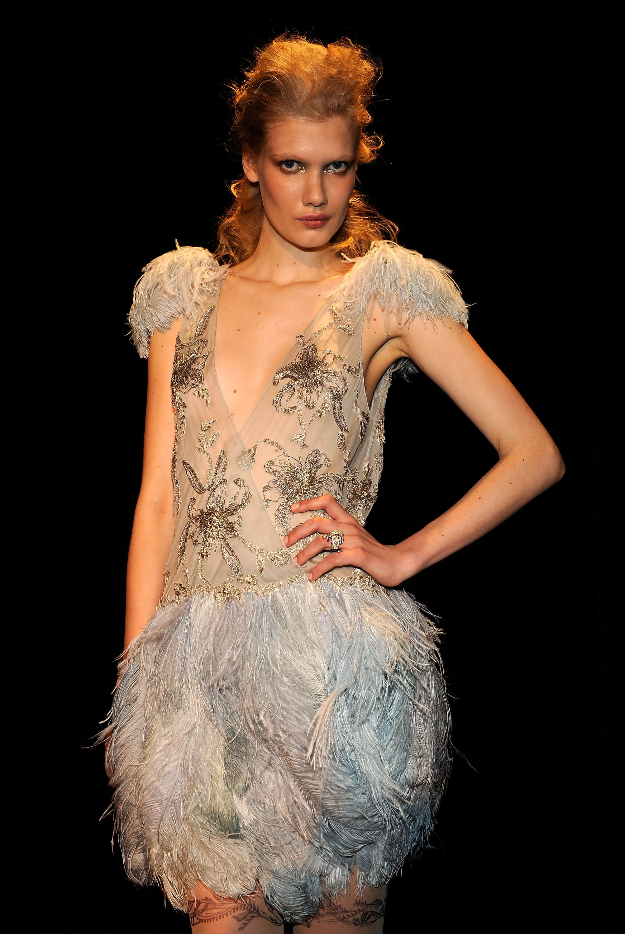 2010 Fall New York Fashion Week : Marchesa
