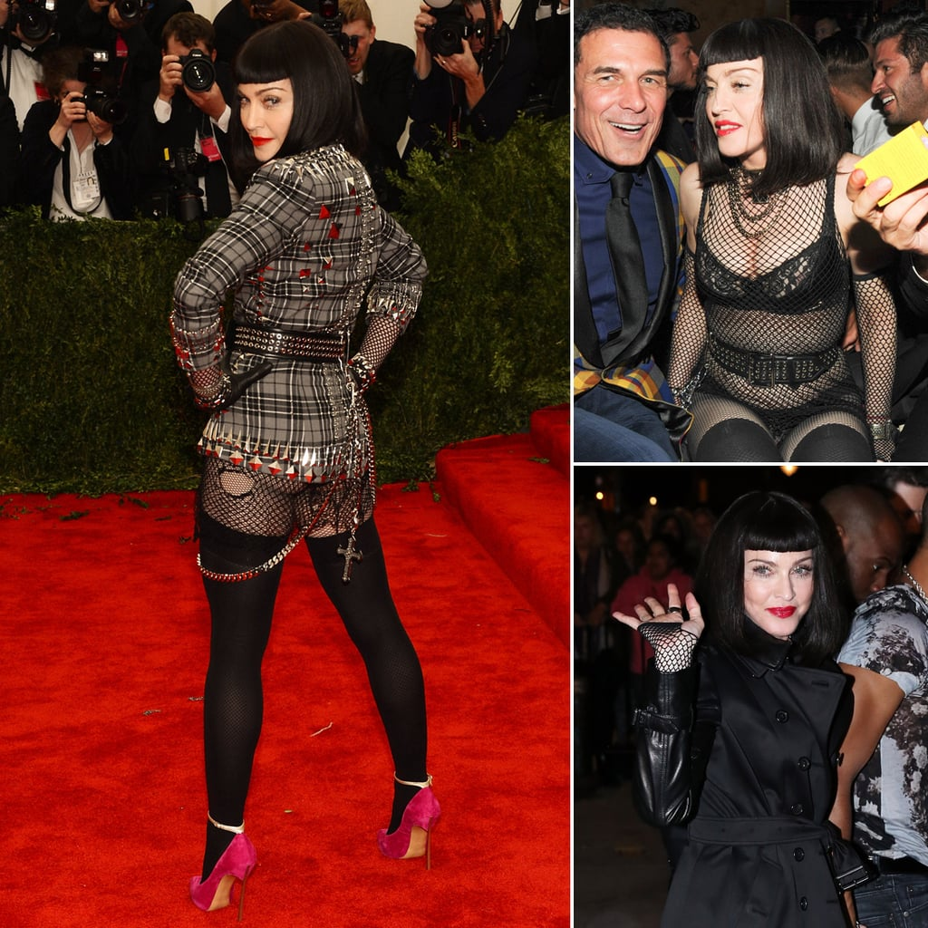 Madonna Bares Her Butt (and Much More) During a Wild Met Gala Night