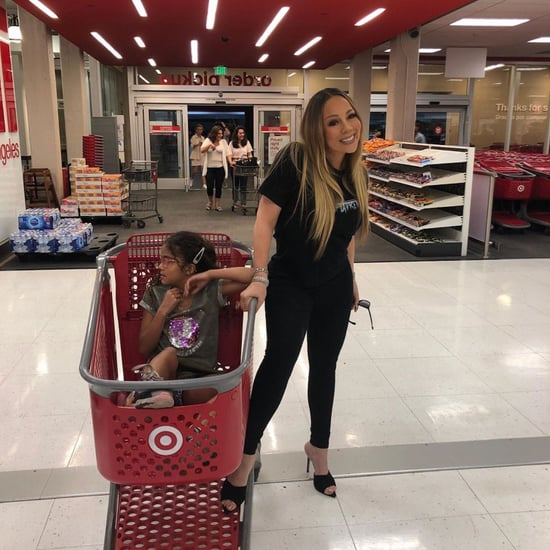Mariah Carey Takes Her Daughter Shopping at Target