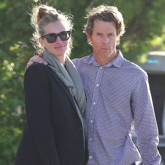 Julia Roberts and Danny Moder in Malibu May 2017