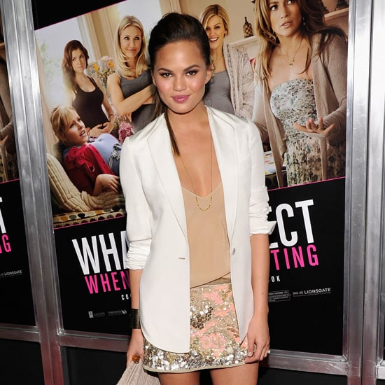 Chrissy Teigen Sequin Skirt
