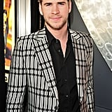 Liam Hemsworth at the Hunger Games premiere in Canada.