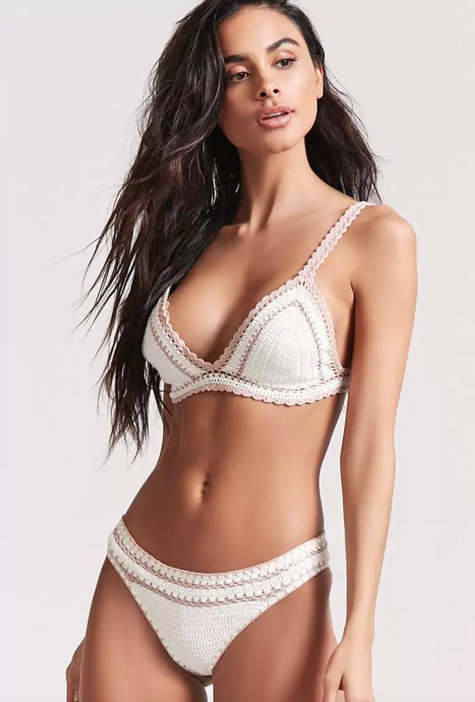 Forever 21 Crochet Bikini