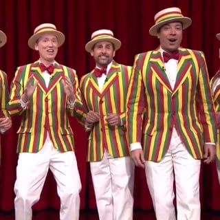 """Steve Carell Sings """"Sexual Healing"""" on The Tonight Show"""