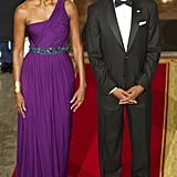The Obamas put on their finest for a state dinner date night honoring South Korea.