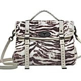 Oversized Alexa Bag in Pink Trippy Tiger Raffia