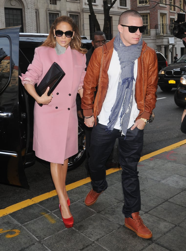 In a Pink Coat in 2012