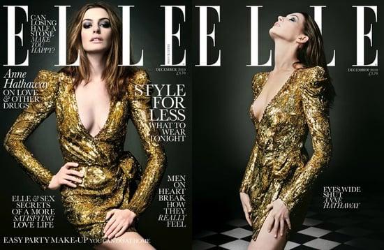 Anne Hathaway covers Elle UK-december 2010