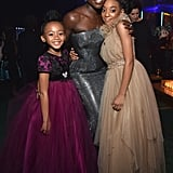 Pictured: Faithe Herman, Lupita Nyong'o, and Eris Baker