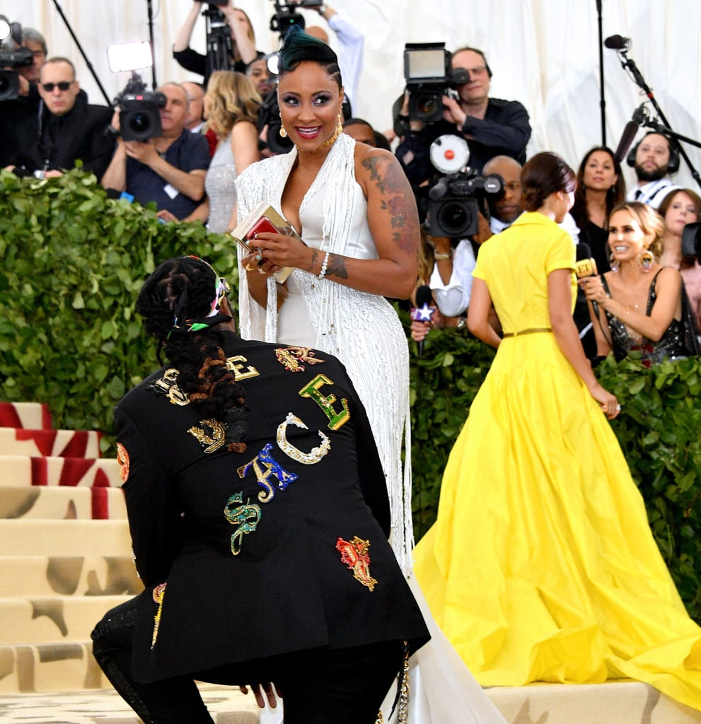 2Chainz Proposes at the Met Gala 2018
