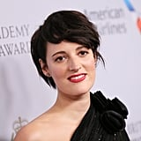 Phoebe Waller-Bridge Edgy Black Pixie Cut Photos