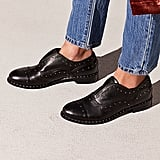 Free People Rogue Studded Loafers