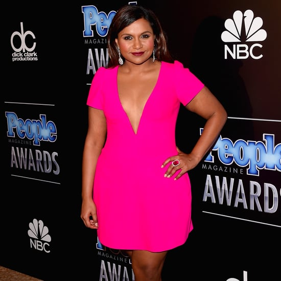 Mindy Kaling Plates Christmas Present December 2016