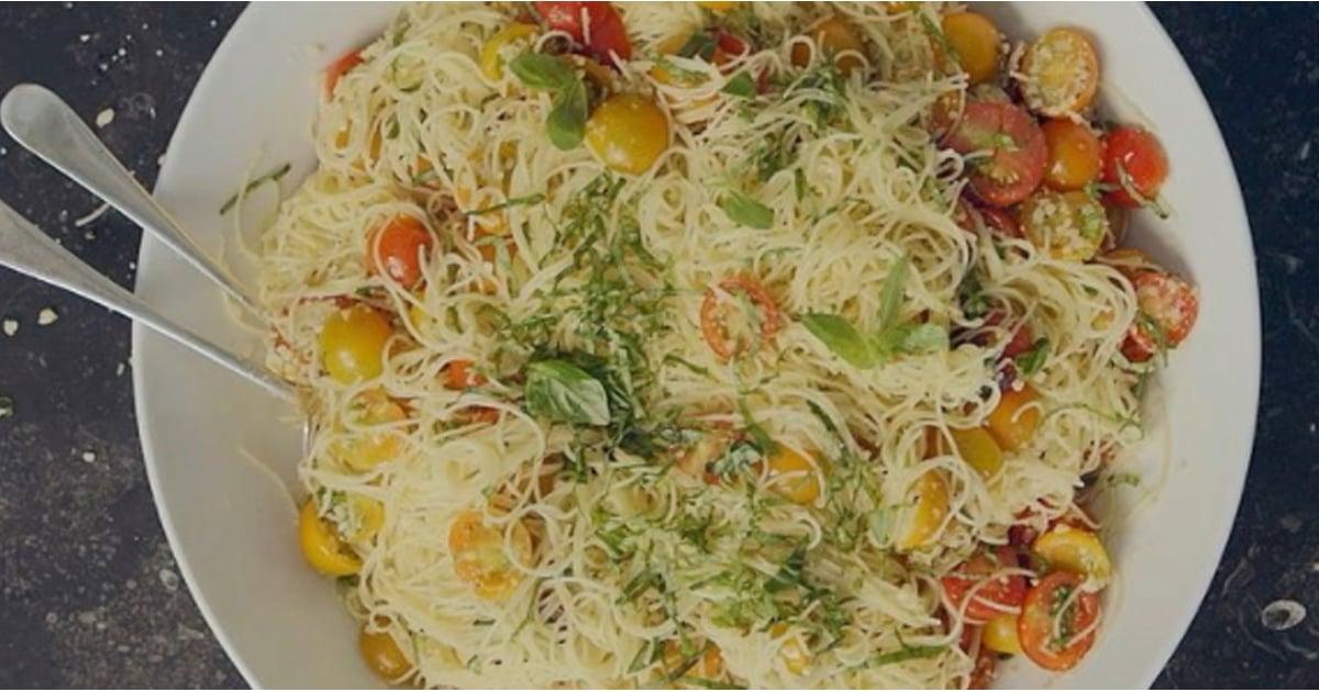 Ina garten 39 s summer garden pasta recipe popsugar food for Ina garten summer garden pasta