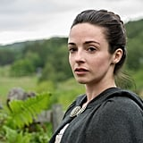 Laura Donnelly as Jamie's sister, Jenny.