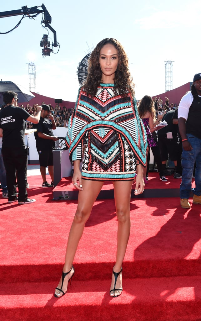 Joan Smalls at the 2014 MTV VMAs