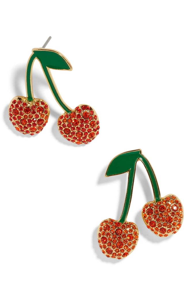 BaubleBar Cherry Earrings